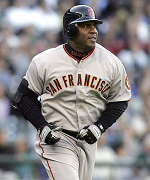 Hire Barry Bonds for an event.