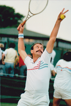 Hire John Newcombe for an event.