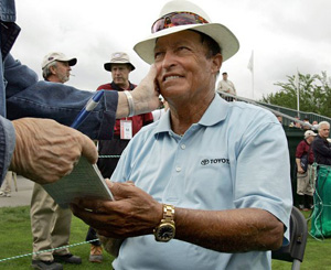 Hire Chi Chi Rodriguez for an event.