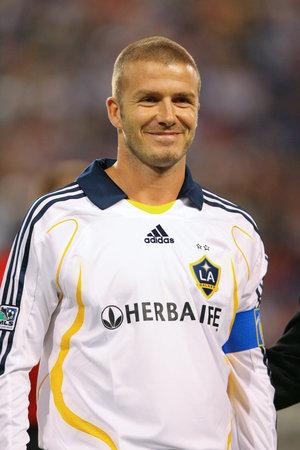 Hire David Beckham for an event.