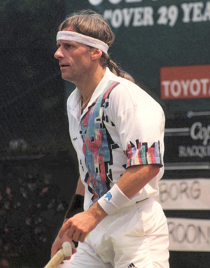 Hire Bjorn Borg for an event.