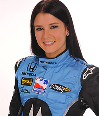 Hire Danica Patrick for an event.