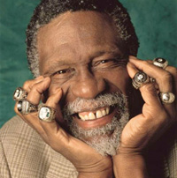 Hire Bill Russell for an event.